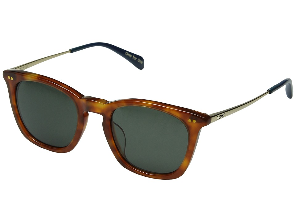TOMS - Maxwell (Honey Tortoise) Fashion Sunglasses