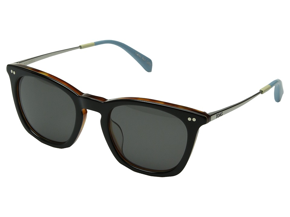 TOMS - Maxwell (Black) Fashion Sunglasses