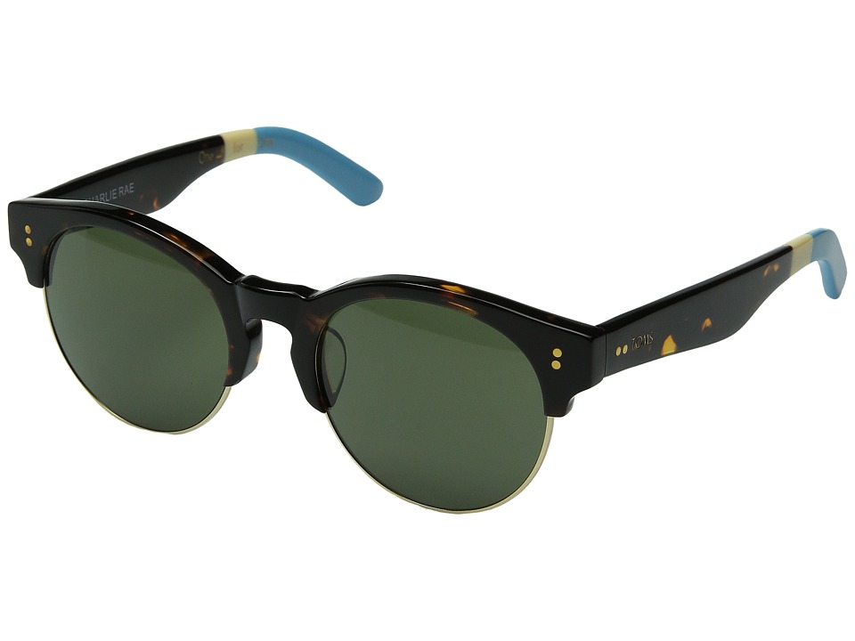 TOMS - Charlie Rae (Blonde Tortoise) Fashion Sunglasses