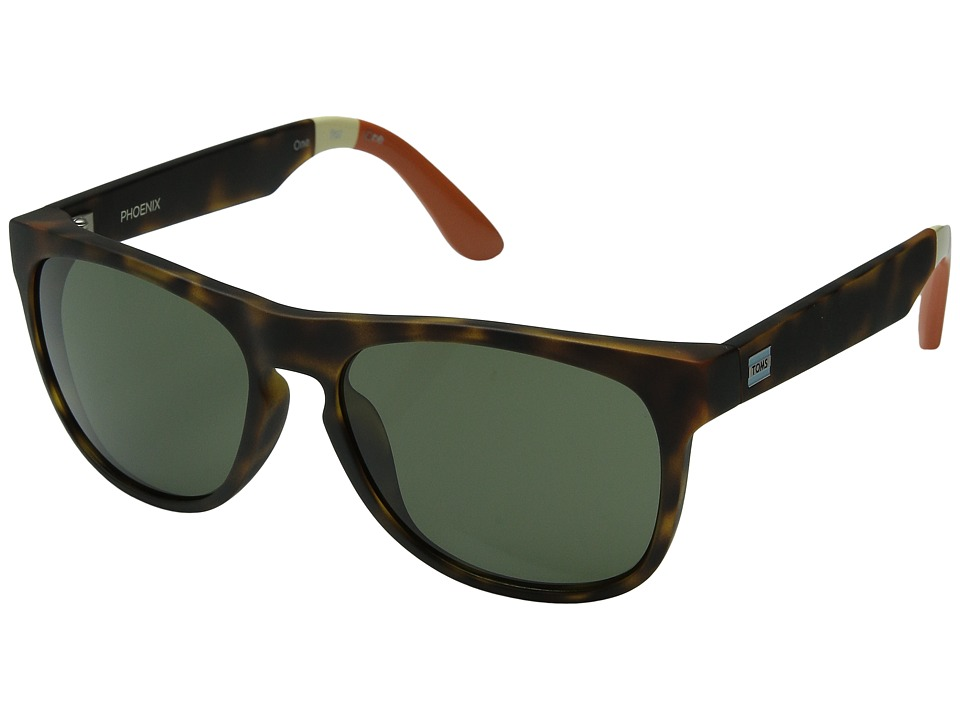 TOMS - Phoenix (Matte Tortoise) Fashion Sunglasses