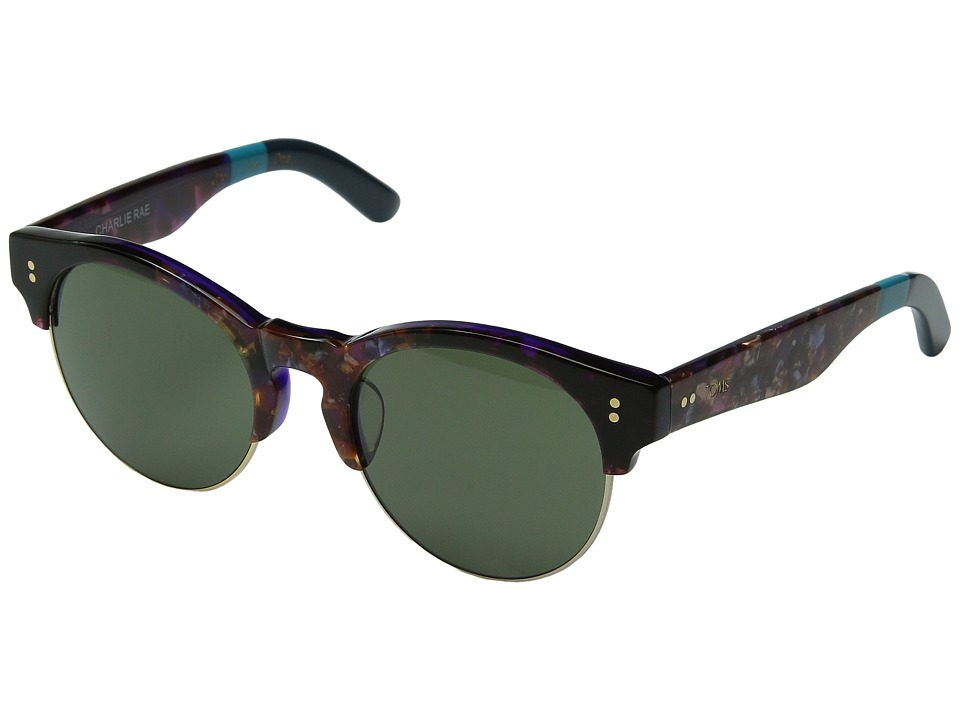 TOMS - Charlie Rae (Purple Craze) Fashion Sunglasses
