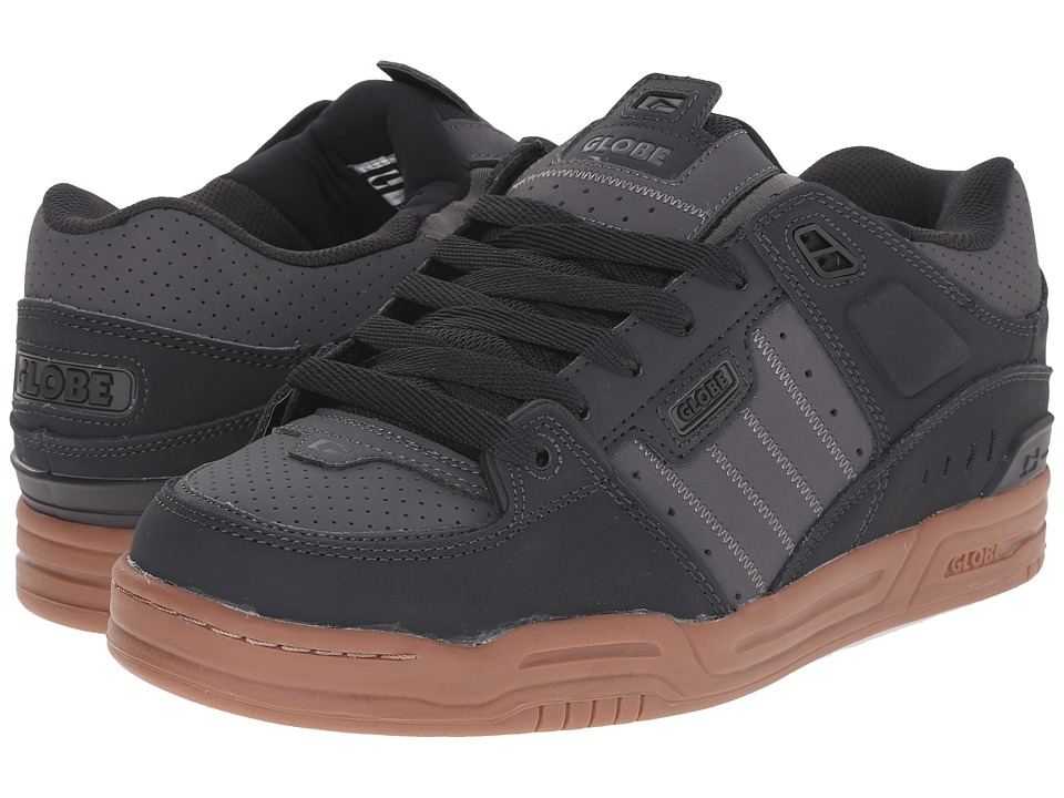 Globe - Fusion (Night/Charcoal/Gum) Men's Skate Shoes
