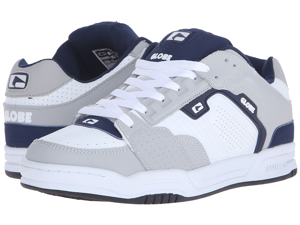 Globe Scribe (Grey/White/Navy) Men