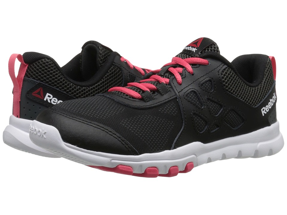 Reebok - SubLite Train 4.0 L MT (Black/Gravel/Fearless Pink/White) Women's Cross Training Shoes