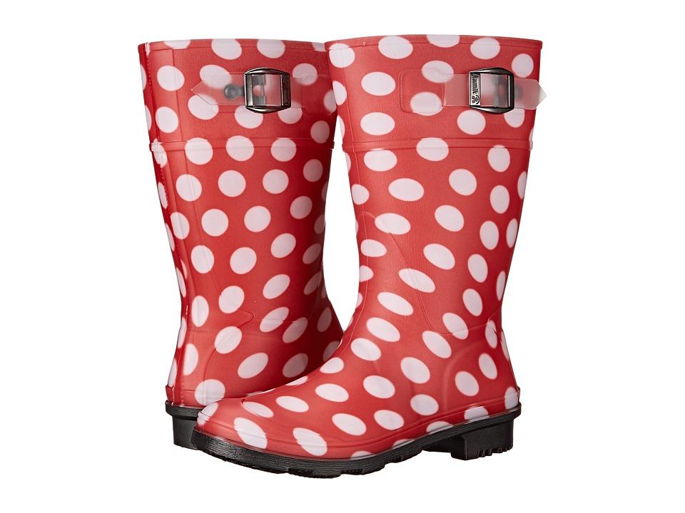 Kamik Kids - Dots (Little Kid/Big Kid) (Red) Girls Shoes