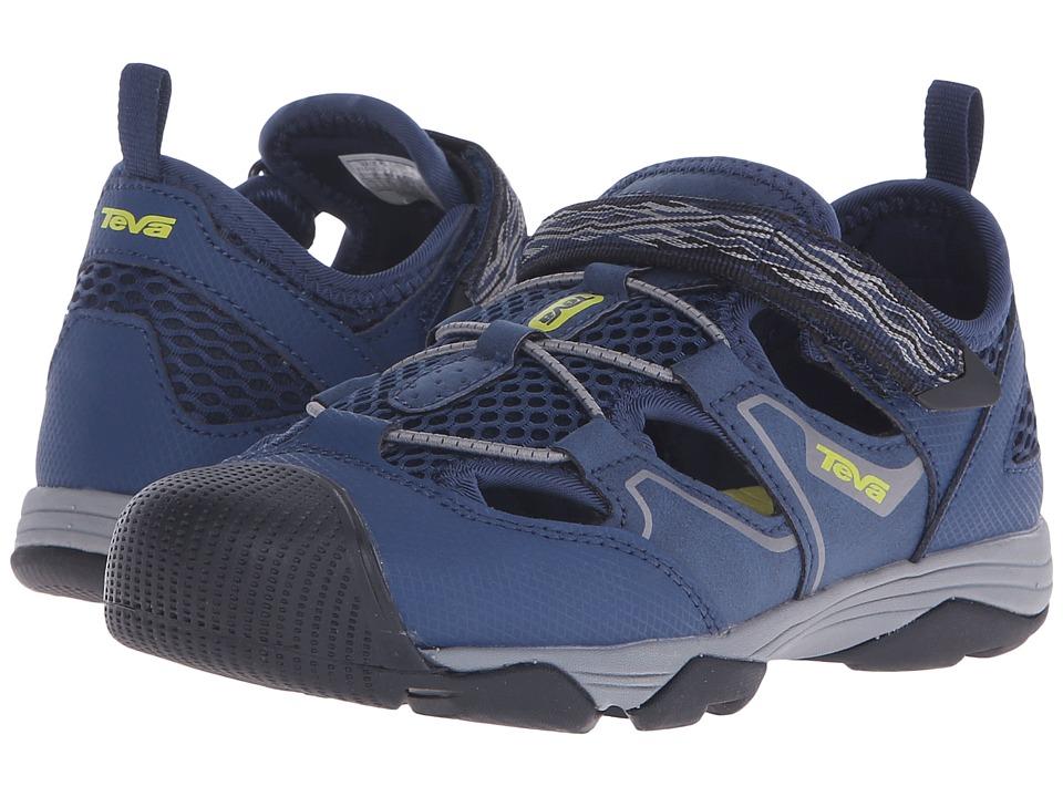 Teva Kids - Rollick (Little Kid/Big Kid) (Navy) Boy's Shoes