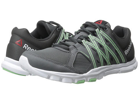 Reebok - YourFlex Trainette 8.0 L MT (Alloy/Coal/Seafoam Green/White) Women