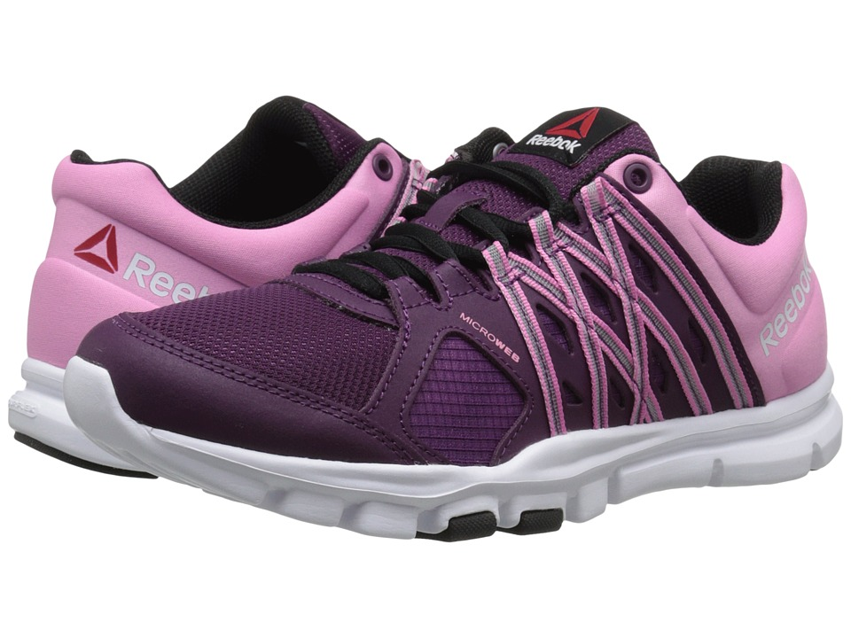 Reebok - YourFlex Trainette 8.0 L MT (Celestial Orchid/Icono Pink/Black/White) Women's Cross Training Shoes