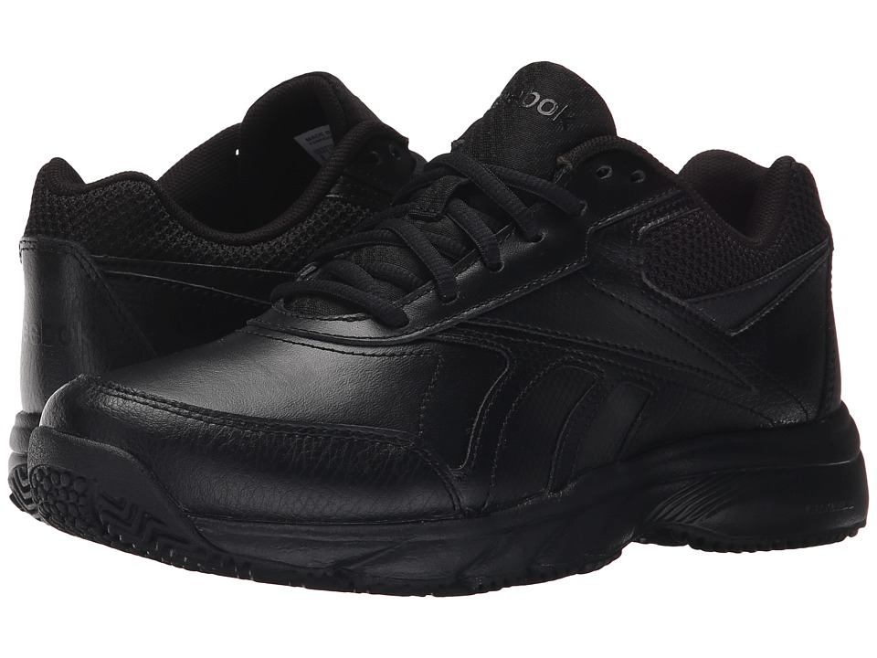 Reebok - Work 'N Cushion 2.0 (Black/Black) Women's Walking Shoes