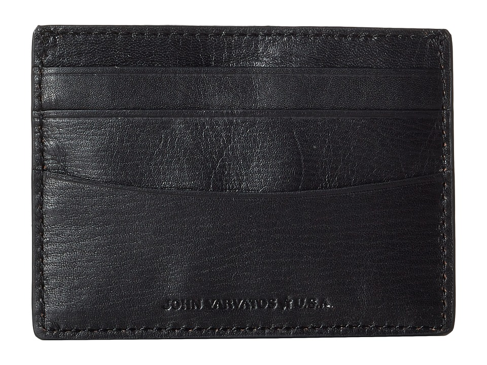 John Varvatos - Barrett Card Case (Black) Credit card Wallet