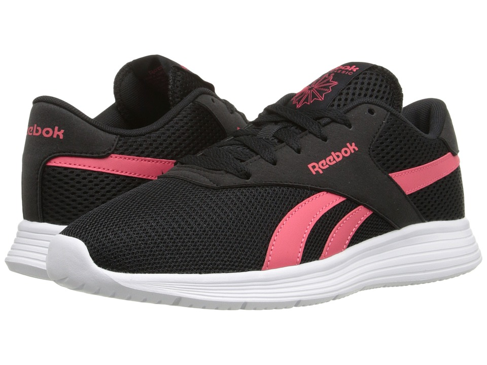 Reebok - Royal EC Ride (Black/Fearless Pink/White) Women's Lace up casual Shoes