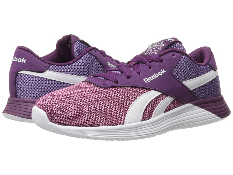 Reebok - Royal EC Ride (Light Pink/Smoky Violet/Celestial Orchid/White) Women's Lace up casual Shoes