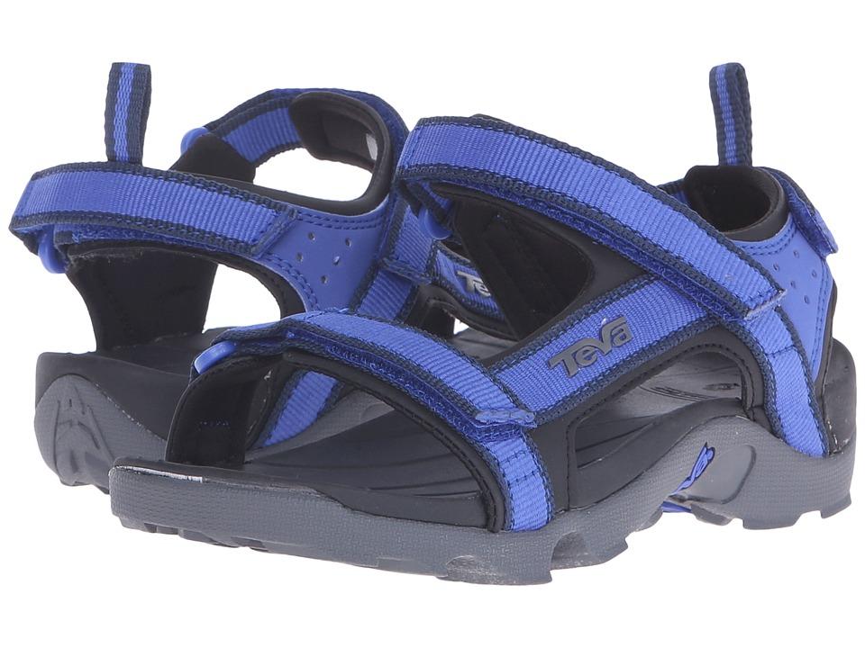 Teva Kids Tanza (Little Kid/Big Kid) (Blue/Grey) Boys Shoes