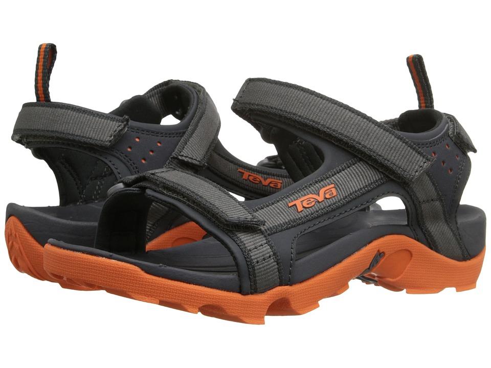 Teva Kids Tanza (Little Kid/Big Kid) (Grey/Orange) Boys Shoes