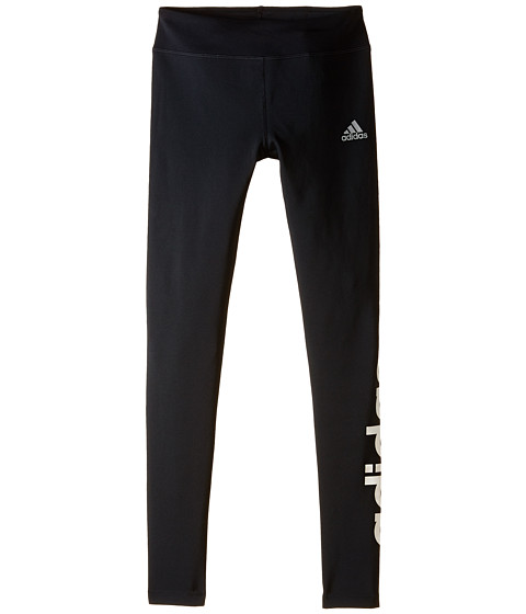 adidas Kids - YG W Tights (Big Kids) (Black) Girl