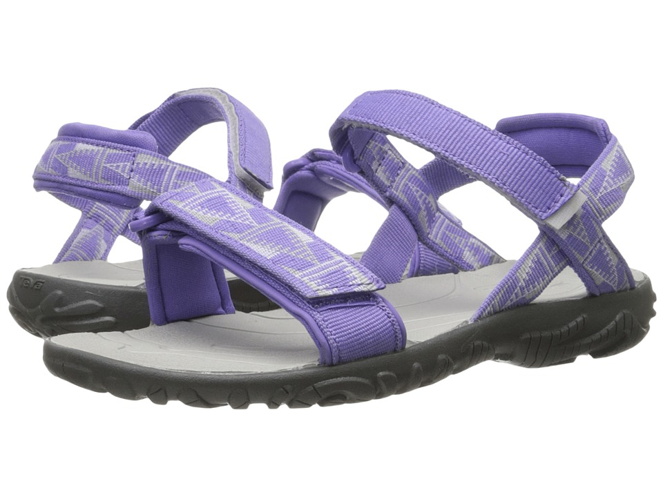 Teva Kids - Nova (Little Kid/Big Kid) (Purple/Grey) Girls Shoes
