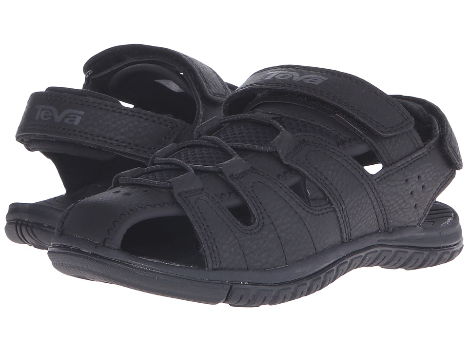 Teva Kids - Bayfront (Little Kid/Big Kid) (Black) Boys Shoes