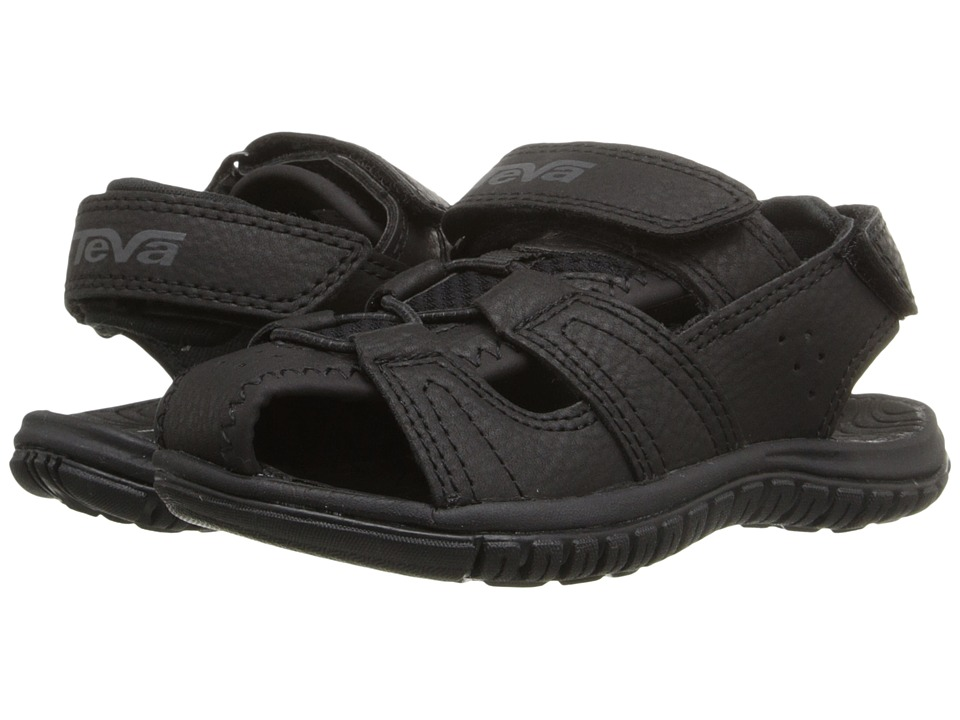 Teva Kids - Bayfront (Toddler) (Black) Boys Shoes