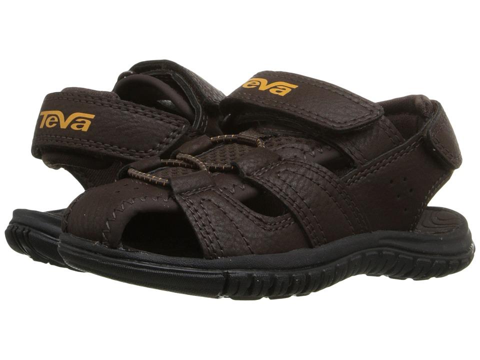 Teva Kids Bayfront (Toddler) (Brown) Boys Shoes