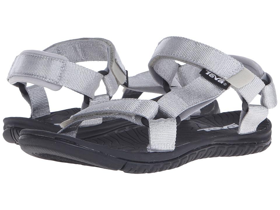 Teva Kids Hurricane 3 (Little Kid/Big Kid) (Silver Metallic) Girls Shoes