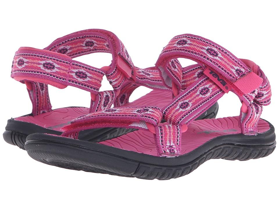 Teva Kids Hurricane 3 (Little Kid/Big Kid) (Monterey Raspberry) Girls Shoes
