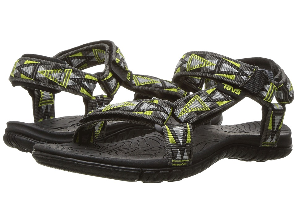 Teva Kids - Hurricane 3 (Little Kid/Big Kid) (Mosaic Grey/Lime) Boys Shoes
