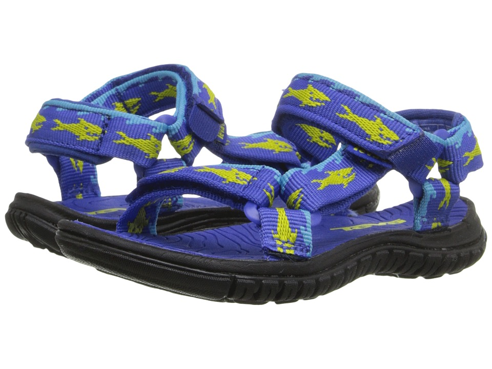Teva Kids - Hurricane 3 (Toddler) (Sharks Royal/Lime) Boys Shoes
