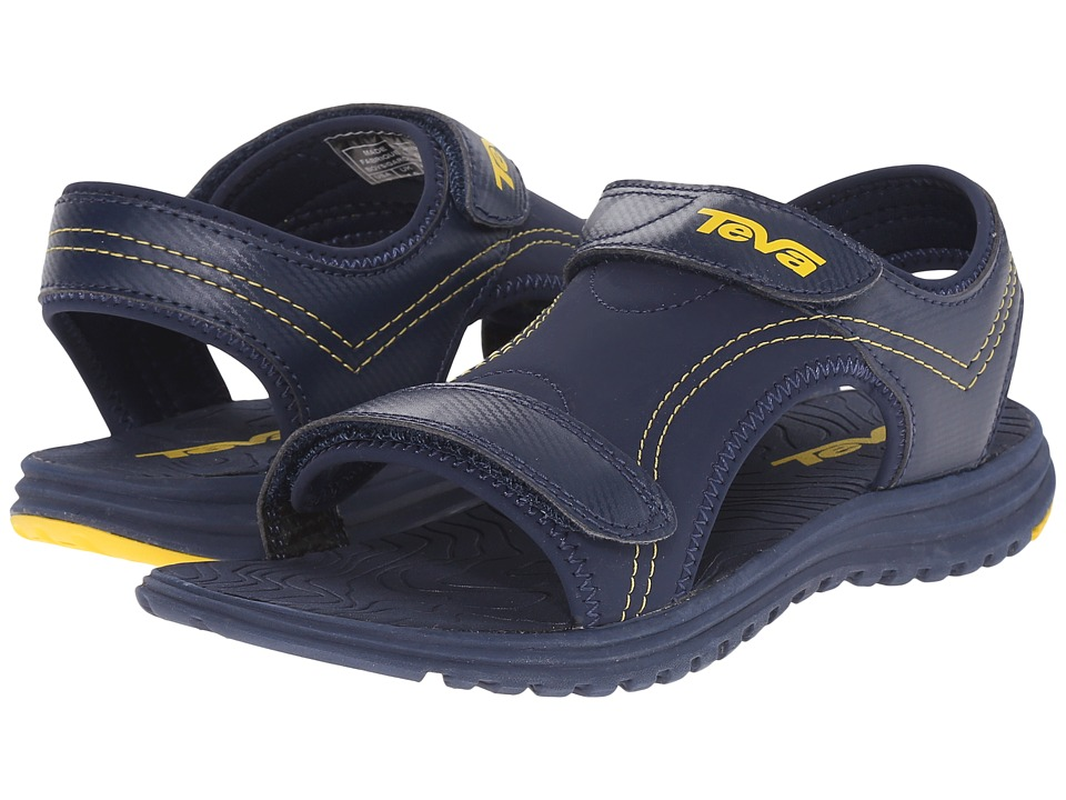 Teva Kids - Psyclone 6 (Little Kid) (Navy/Yellow) Boys Shoes