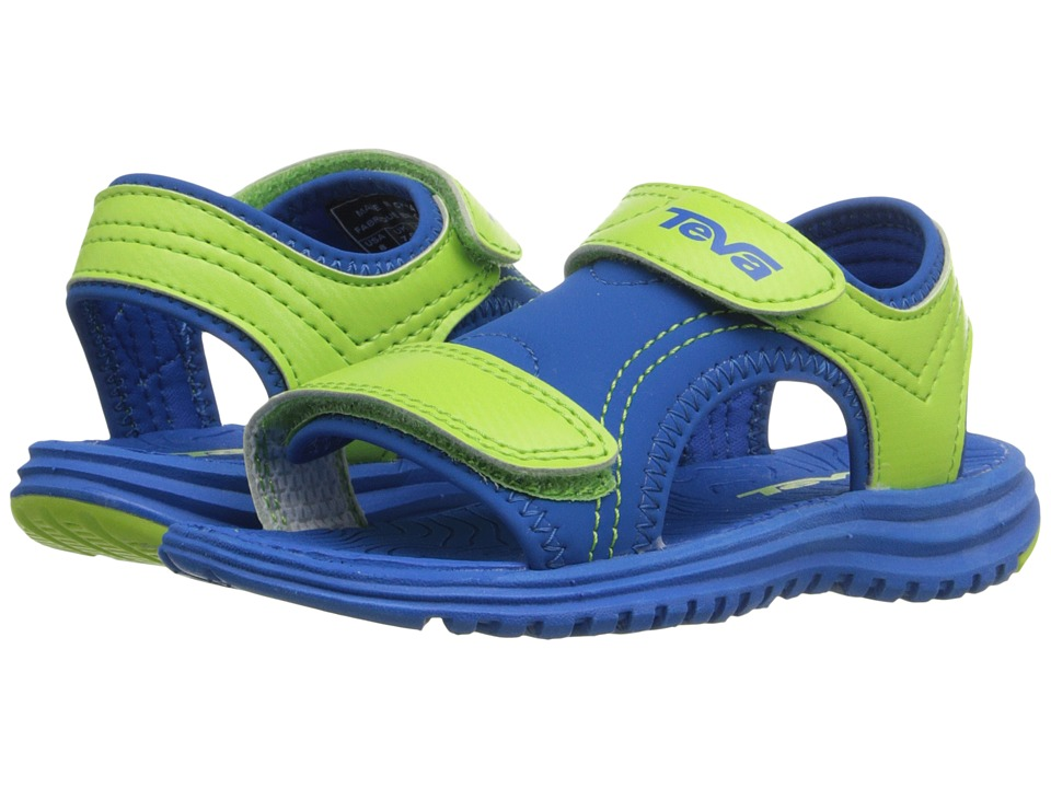 Teva Kids - Psyclone 6 (Toddler) (Blue/Lime) Boys Shoes