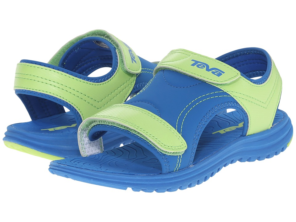 Teva Kids - Psyclone 6 (Little Kid) (Blue/Lime) Boys Shoes