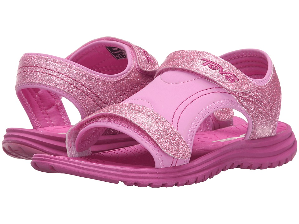 Teva Kids - Psyclone 6 (Little Kid/Big Kid) (Pink Glitter) Girls Shoes