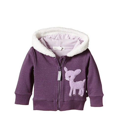 Pumpkin Patch Kids - Finding Anastasia Sparkly Hoodie (Infant) (Purple Passion) Girl