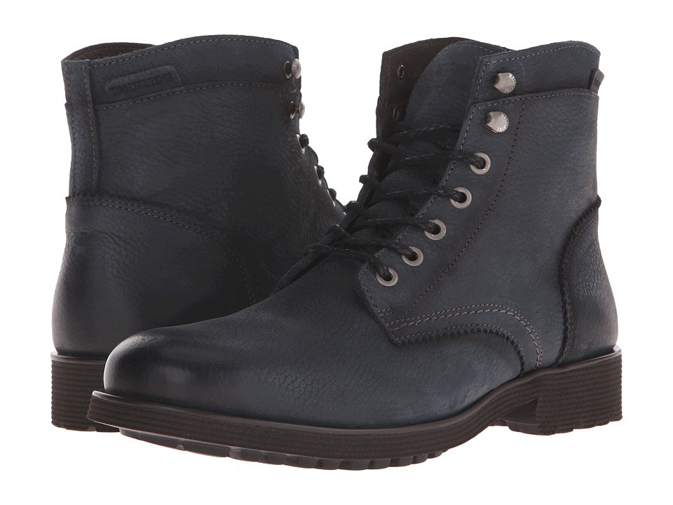 Wolverine - Clarence 6 (Vintage Black Leather) Men's Work Boots