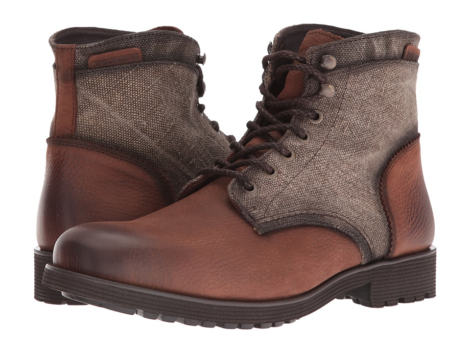 Wolverine - Clarence 6 (Brown Multi Leather) Men's Work Boots