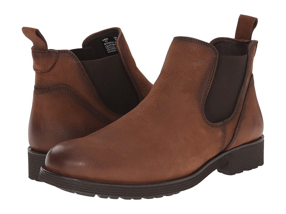 Wolverine - Eckins Slip-On (Brown Leather) Men's Pull-on Boots