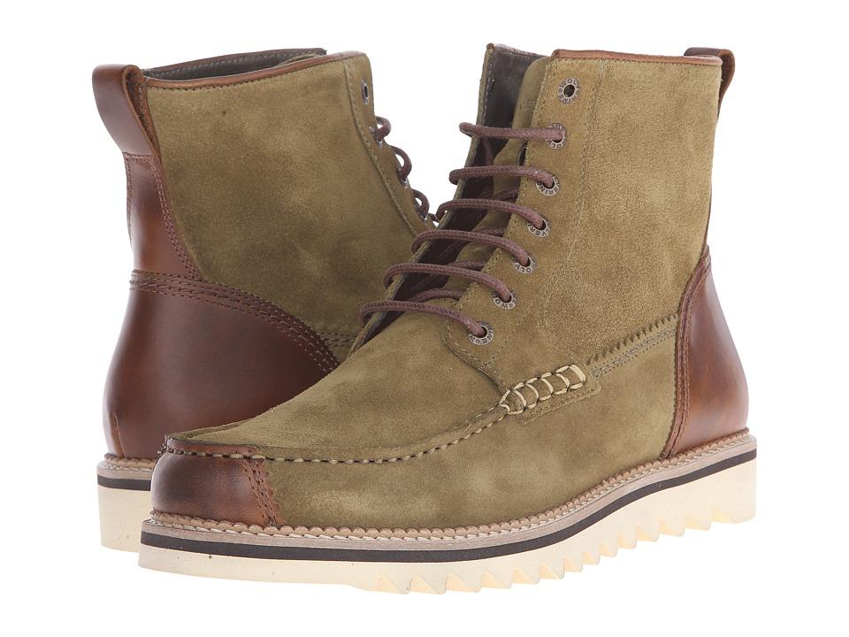 Wolverine - Driscoll 6 (Olive Suede) Men's Work Boots