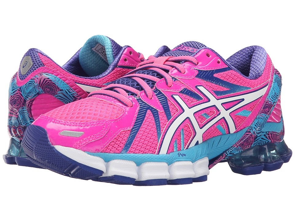 ASICS - Gel-Sendai 3 (Hot Pink/White/Turquoise) Women's Running Shoes