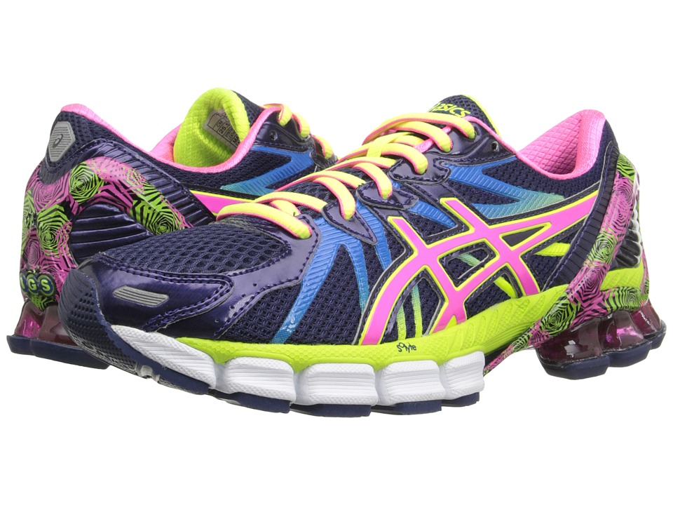 ASICS - Gel-Sendai 3 (Blue Purple/Pink/Flash Yellow) Women's Running Shoes