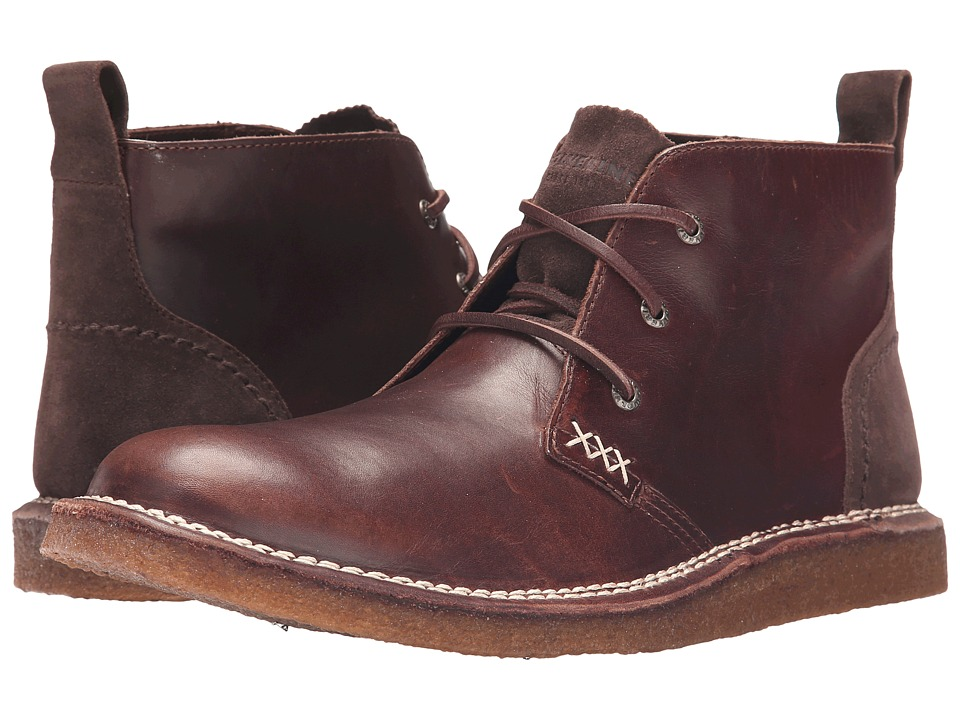 Wolverine - Lionel (Brown Leather) Men's Lace-up Boots