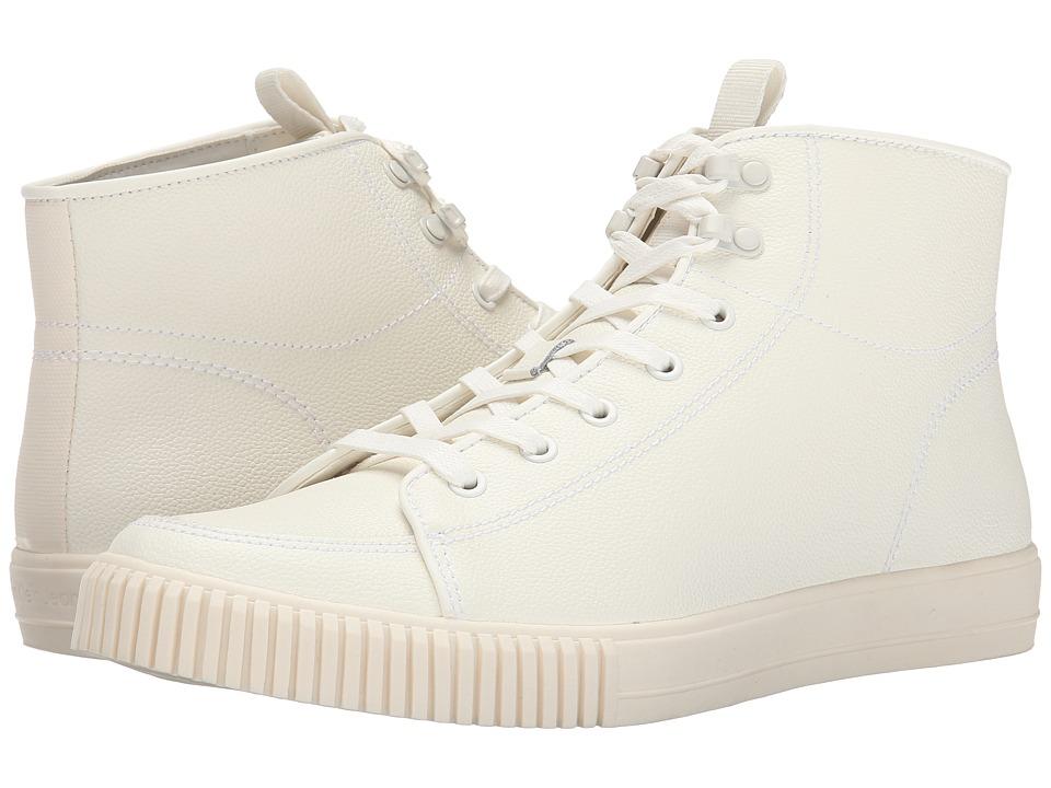 Calvin Klein Men S Berke Emboss Leather Fashion Sneaker