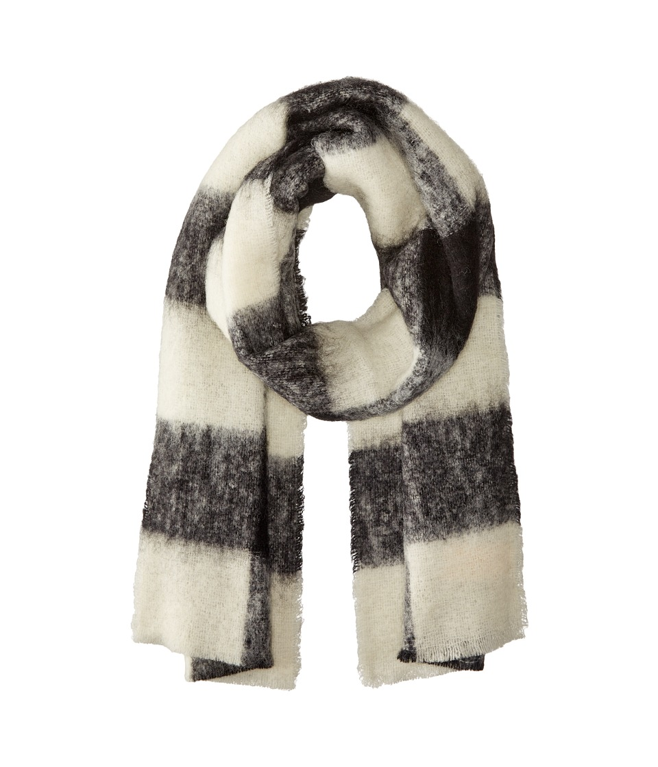 Scotch & Soda - Brushed Multicolor Scarf (Black/White) Scarves