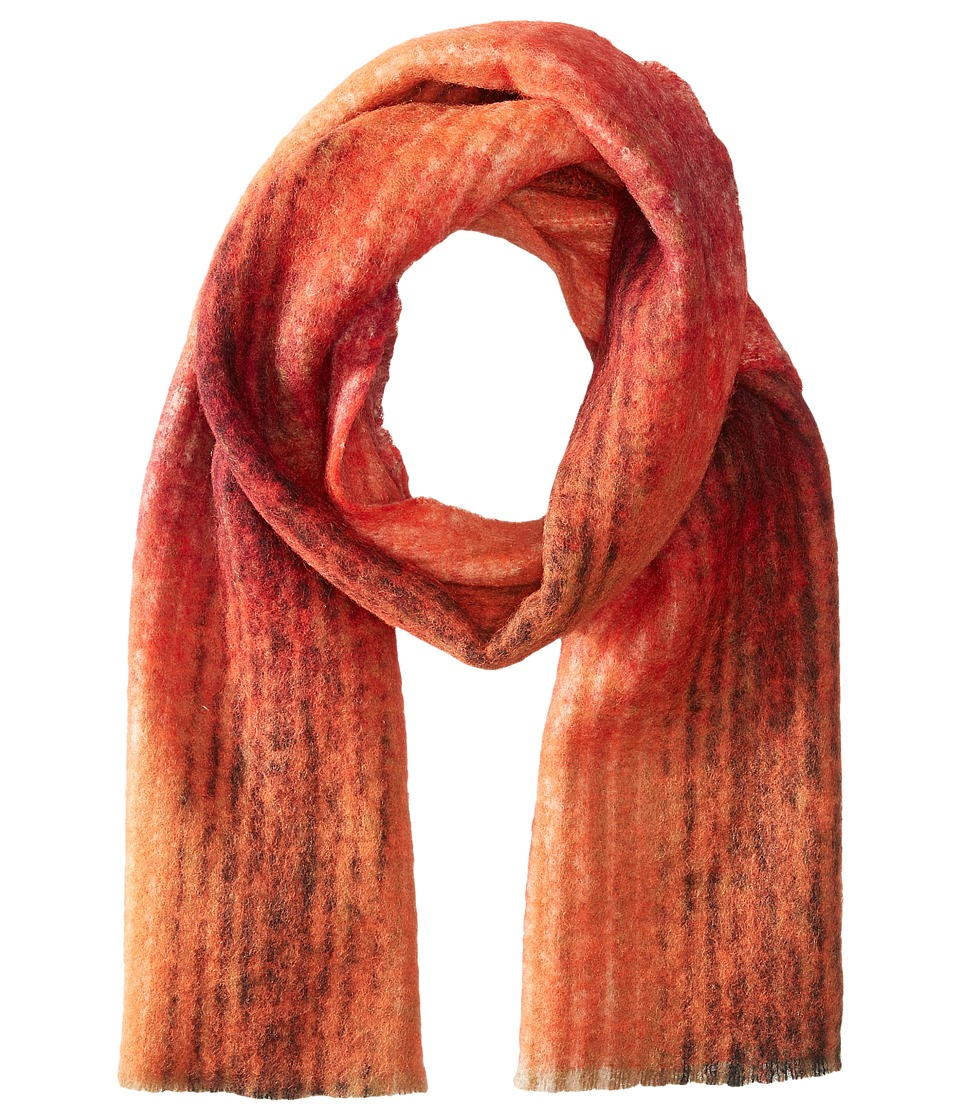 Scotch & Soda - Brushed Multicolor Scarf (Red/Orange) Scarves