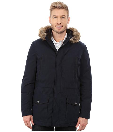 Nautica - Bi Blend Zip Front Jacket (Dark Navy) Men