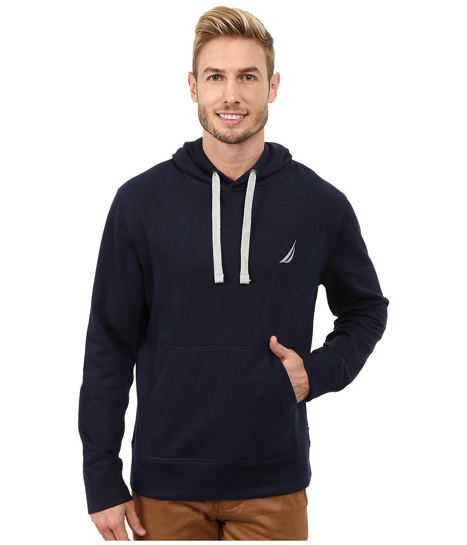 Nautica - Pullover Hoodie (Navy) Men's Sweatshirt