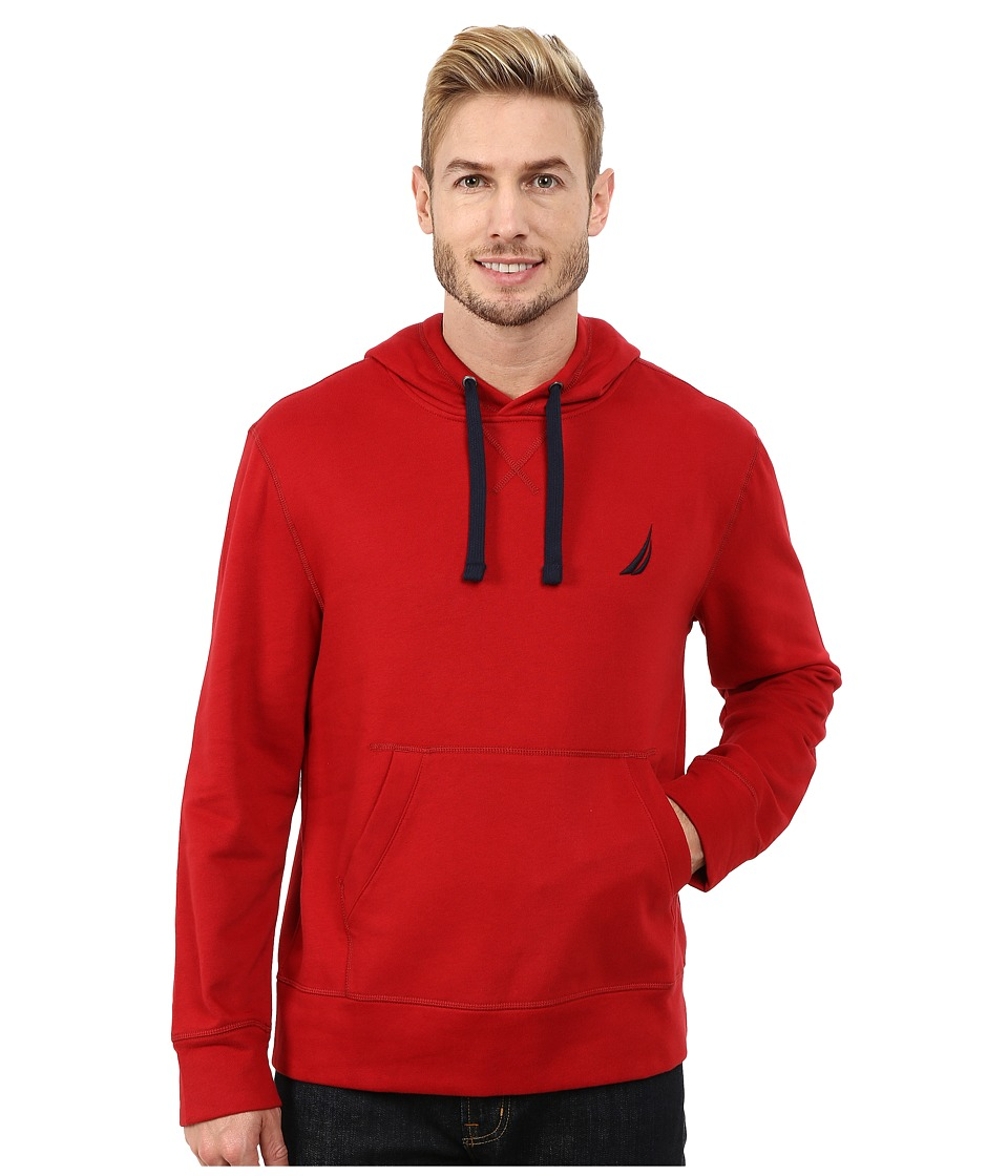 Nautica - Pullover Hoodie (Ribbon Red) Men's Sweatshirt