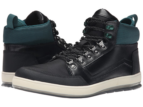 Calvin Klein Jeans - Marshall (Black/Emerald Leather/Nylon) Men