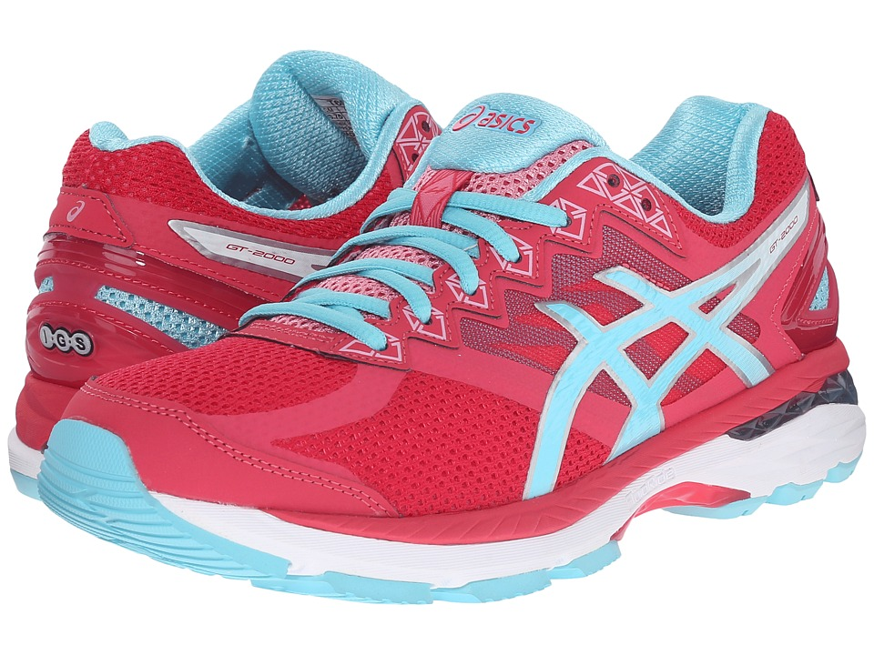 ASICS - GT-2000 4 (Azalea/Turquoise/White) Women's Running Shoes
