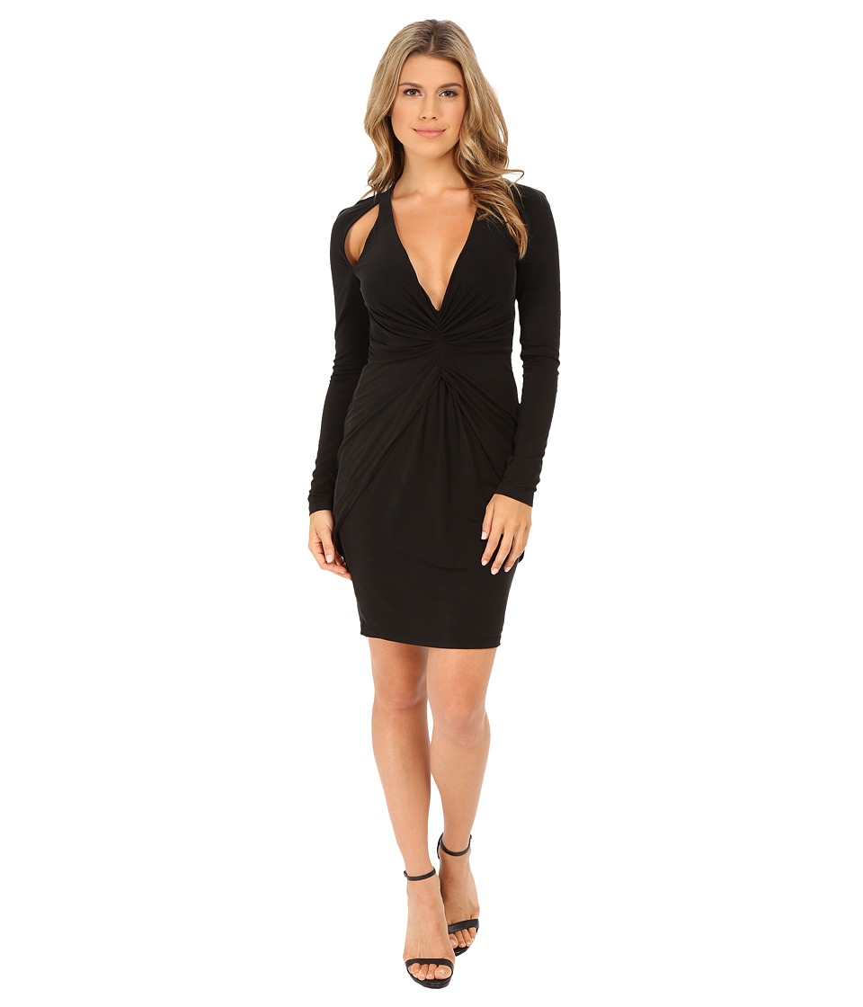 StyleStalker - Silence Dress (Ebony) Women's Dress
