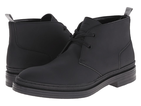 Calvin Klein Jeans - Nole (Black Matte Rubber Smooth) Men's Shoes