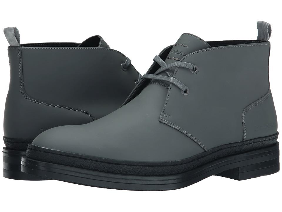 Calvin Klein Jeans Nole (Dark Grey Matte Rubber Smooth) Men